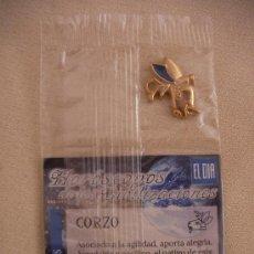 Joyeria: COLGANTE HOROSCOPO DE LAS CIVILIZACIONES AZTECA - CORZO. Lote 32821702