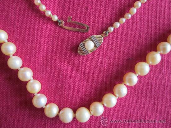7448909b294d Joyeria  Collar de perlas cultivadas con broche de oro - Foto 3 - 33983757