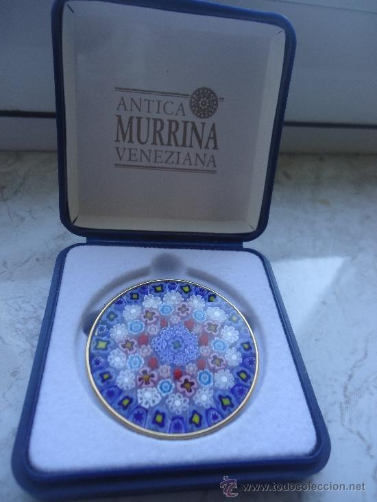 murano broche diseño mil flores plata antica mu - Comprar Bisuteria ...