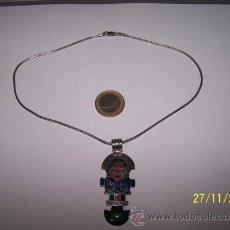 Joyeria: CADENA DE PLATA LEY 925 +COLGANTES. Lote 34582147