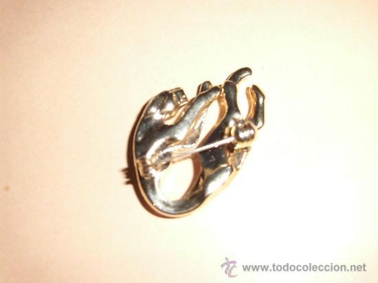 Joyeria: BONITO BROCHE EN FORMA DE TIGRE DORADO CON CRISTALES - Foto 3 - 34695697