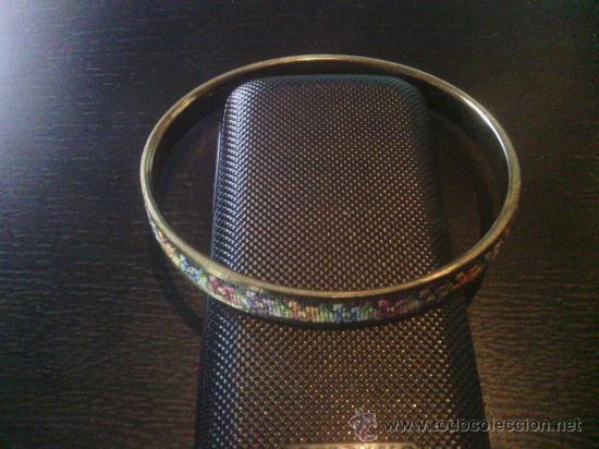 Joyeria: Brazelet con bordado - años '50 - muy original ! - Foto 2 - 34990334