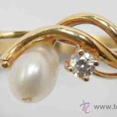 Joyeria: SORTIJA ANILLO ORO 18 QUILATES -18 CARAT GOLD RING.. Lote 38442493