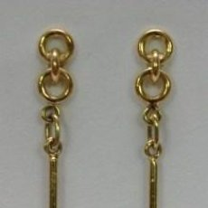 Joyeria: PENDIENTES ORO 18 QUILATES Y BRILLANTE - 18 CARAT GOLD EARRINGS AND BRIGHT. Lote 38889675
