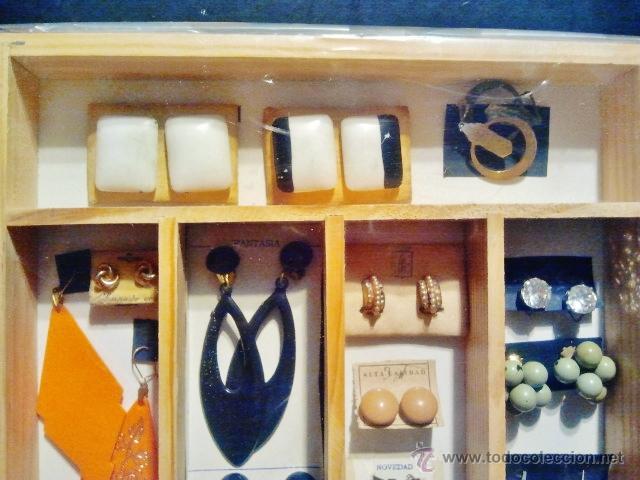 Joyeria: Lote de bisutería antigua Art-Deco. Consta de 21 pendientes de diferentes materiales. - Foto 2 - 39911007
