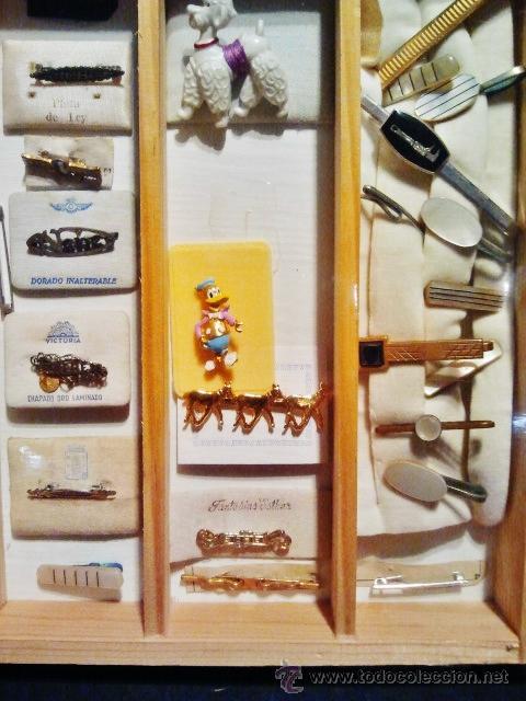Joyeria: Lote de bisutería antigua. Consta de 15 broches y 12 alfileres de diferentes materiales. - Foto 3 - 39911009