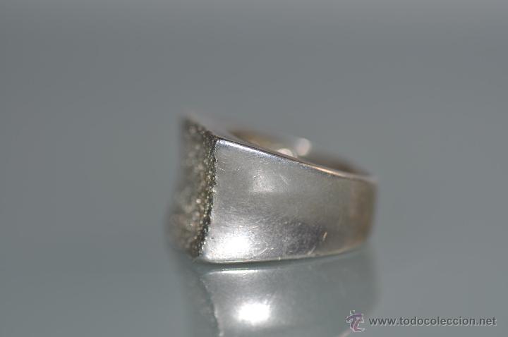 Joyeria: anillo de diseño de plata contrastada 925 , vintage - Foto 2 - 40383646