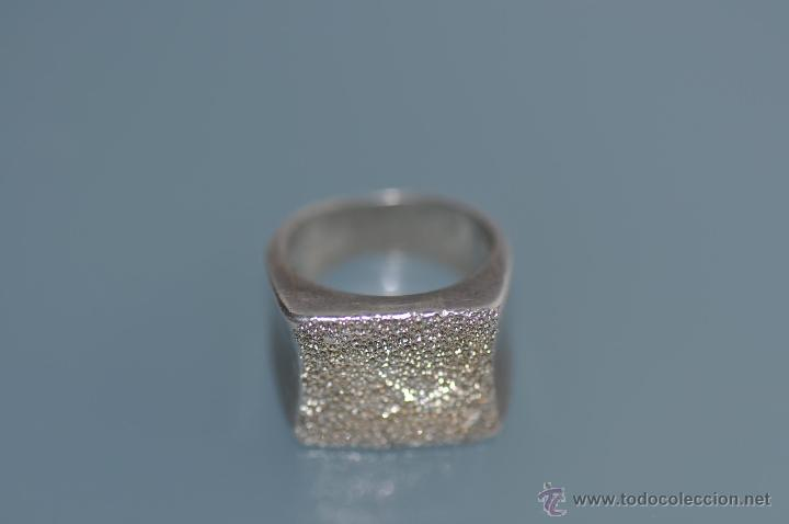 Joyeria: anillo de diseño de plata contrastada 925 , vintage - Foto 3 - 40383646