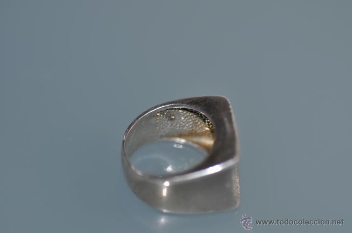 Joyeria: anillo de diseño de plata contrastada 925 , vintage - Foto 4 - 40383646
