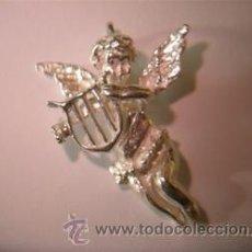 Joyeria: COLGANTE PLATA ANGEL CON ARPA. Lote 41417692