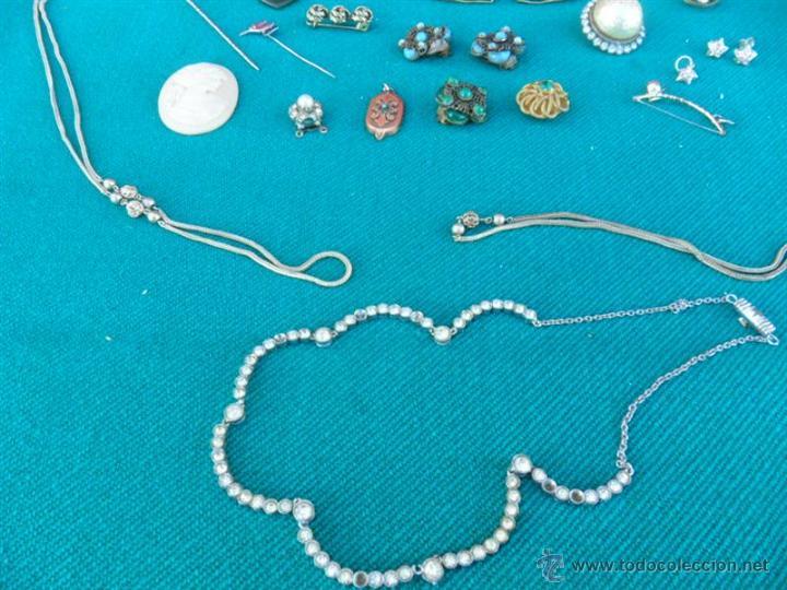 Joyeria: lote de bisuteria plata y de mas - Foto 4 - 41739569