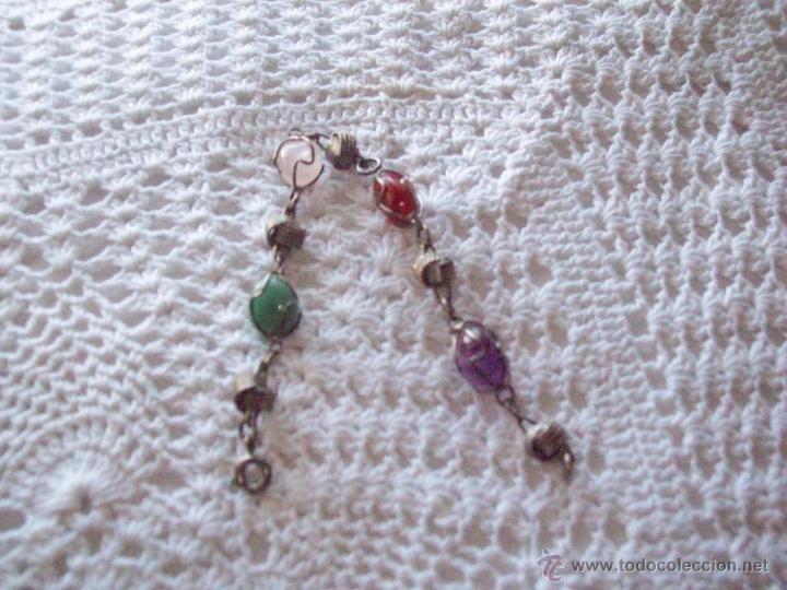 Joyeria: Pulsera brazalete piedras colores 19,50 cm - Foto 2 - 41755194