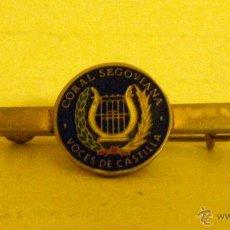 Joyeria: ALFILER BROCHE CORAL DE SEGOVIA VOCES DE CASTILLA. Lote 42377068