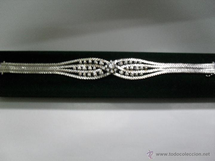 Joyeria: pulsera oro blanco y brillantes - Foto 4 - 43703282
