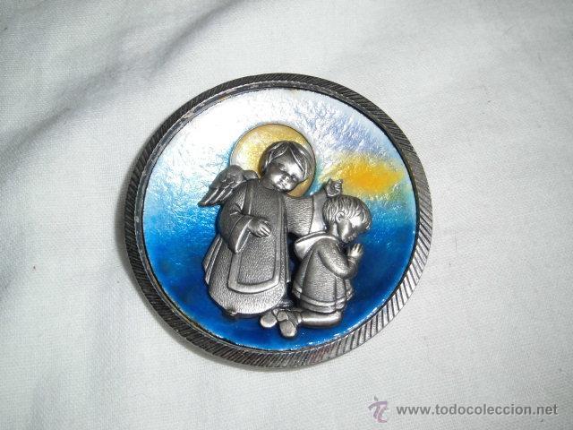 Joyeria: BONITO MEDALLON ANGEL CON NIÑO EN PLATA DE LEY Y ESMALTE AL FUEGO - Foto 2 - 46755742
