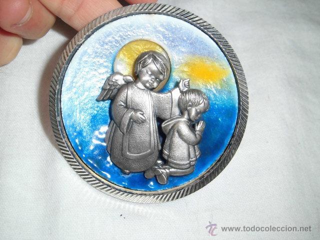 Joyeria: BONITO MEDALLON ANGEL CON NIÑO EN PLATA DE LEY Y ESMALTE AL FUEGO - Foto 6 - 46755742