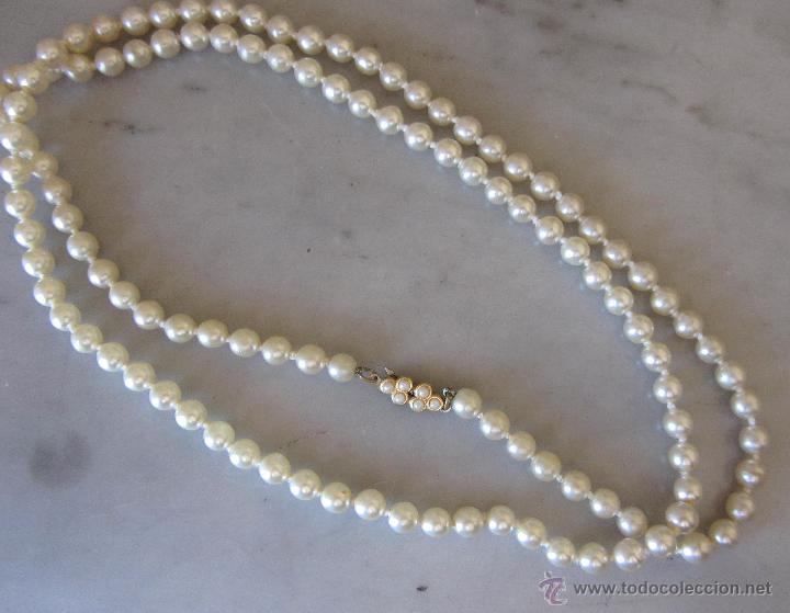 Joyeria: Collar de perlas tipo majórica. Largo - Foto 2 - 47269787