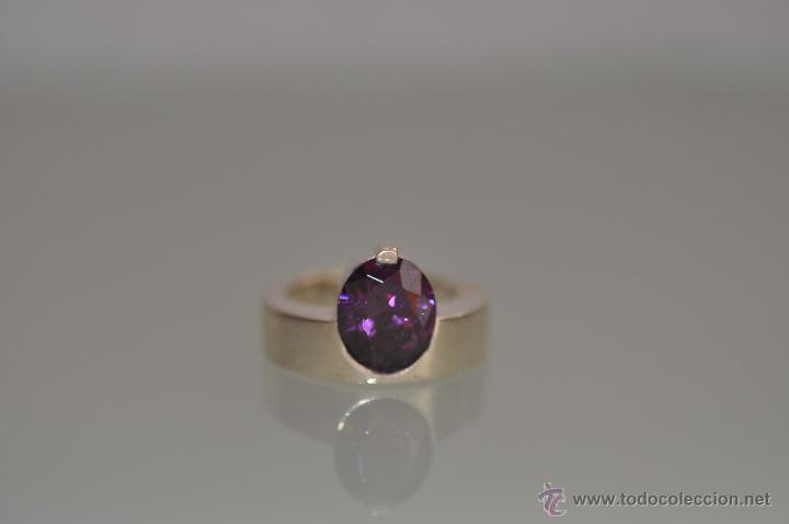 Joyeria: anillo de diseño de plata de ley contrastada 925 , vintage - Foto 2 - 47585060