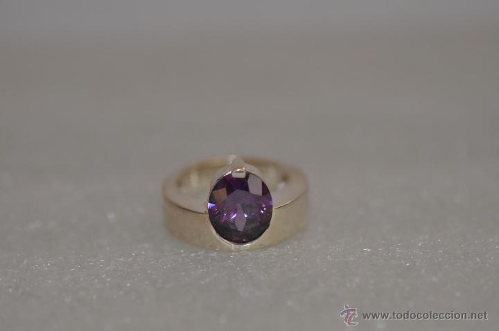 Joyeria: anillo de diseño de plata de ley contrastada 925 , vintage - Foto 5 - 47585060