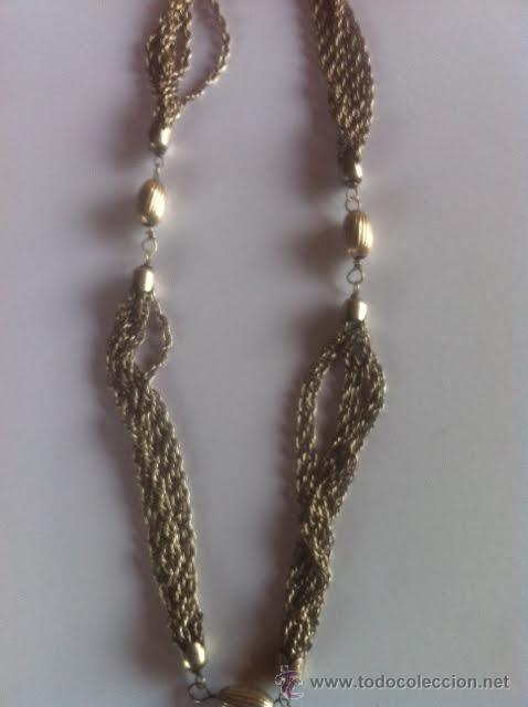 Joyeria: Antiguo collar de plata - Foto 2 - 48317271