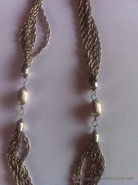 Joyeria: Antiguo collar de plata - Foto 3 - 48317271