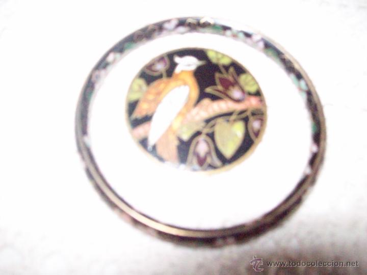 Joyeria: Pulsera vintage oriental estilo Cloisonne y broche esmaltado - Foto 5 - 49050413