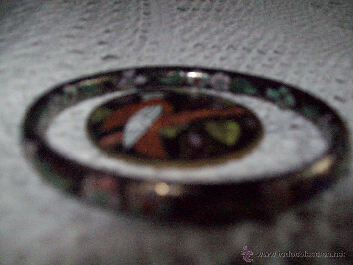 Joyeria: Pulsera vintage oriental estilo Cloisonne y broche esmaltado - Foto 7 - 49050413