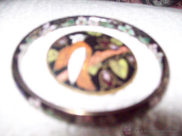 Joyeria: Pulsera vintage oriental estilo Cloisonne y broche esmaltado - Foto 8 - 49050413