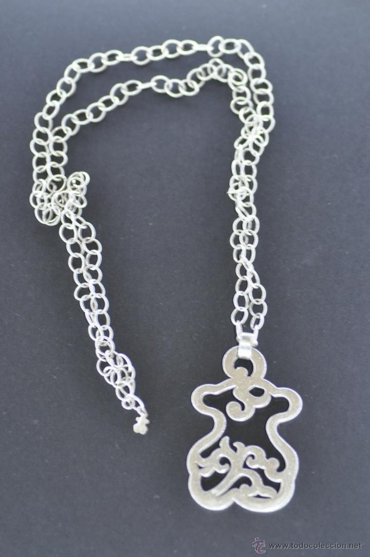 9a37ed3ef41c Collar original tous de plata de ley 925 , con - Vendido en Venta ...