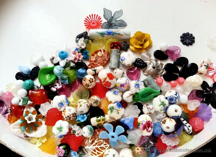 e0e5483451eb Super lote de cuentas florales vintage