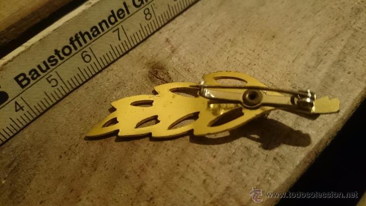 Joyeria: broche antiguo tipo hoja - Foto 2 - 53070538