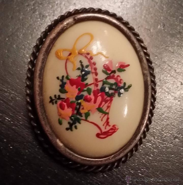 ANTIGUO BROCHE MODERNISTA (Bisutería)
