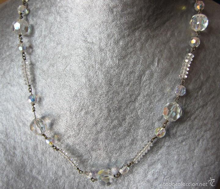 Joyeria: Collar vintage de cristal - Foto 2 - 56189959