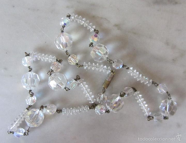 Joyeria: Collar vintage de cristal - Foto 3 - 56189959