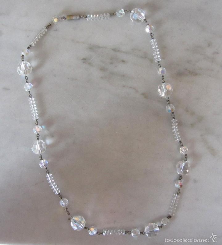 Joyeria: Collar vintage de cristal - Foto 4 - 56189959