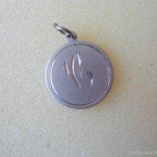 Joyeria: COLGANTE INICIAL LETRA C - PLATA DE LEY- AÑOS 80. Lote 56348861