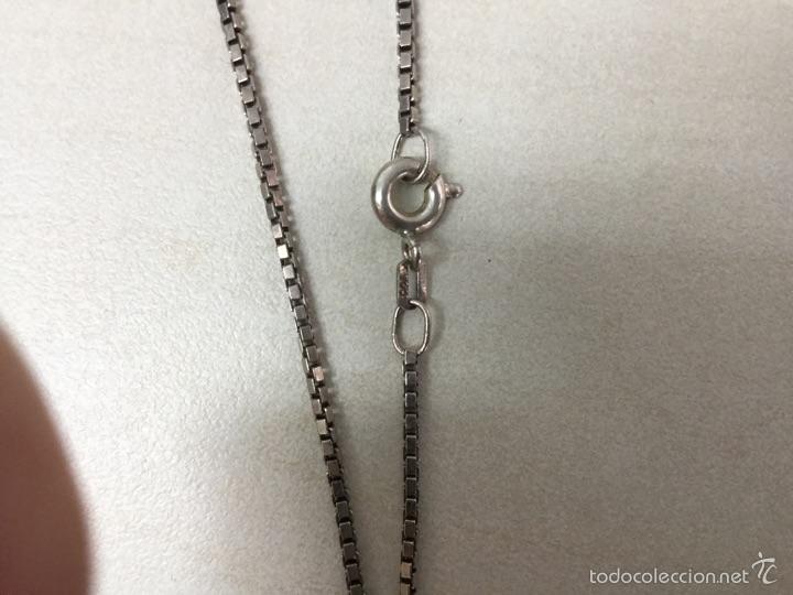 Joyeria: Cadena y colgante de plata de escarabajo egipcio plata de ley 925 - Foto 2 - 56371802