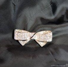 Joyeria: VINTAGE BROCHE ART DECO PLATINO DIAMONDS 2,40CT BROOCH ART DECO PLATINUM DIAMOND. Lote 57672614