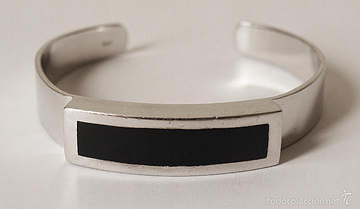 93965cc82a24 pulsera brazalete de plata de ley contrastada. - Comprar Bisuteria ...