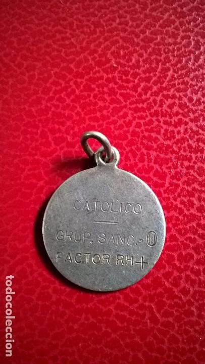 a5e29e5650e1 medalla de plata grabada - Comprar Bisuteria en todocoleccion - 71950827