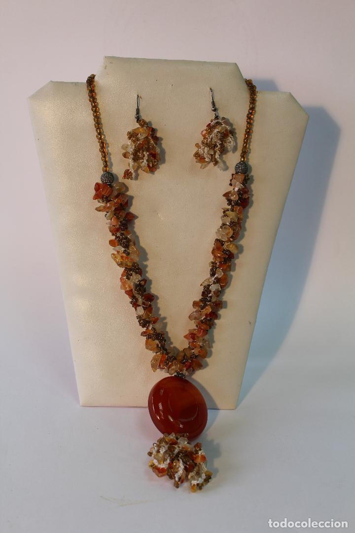 ae0bd58f18c9 collar y pendientes con piedras semipreciosas - Buy Fashion Jewelry ...