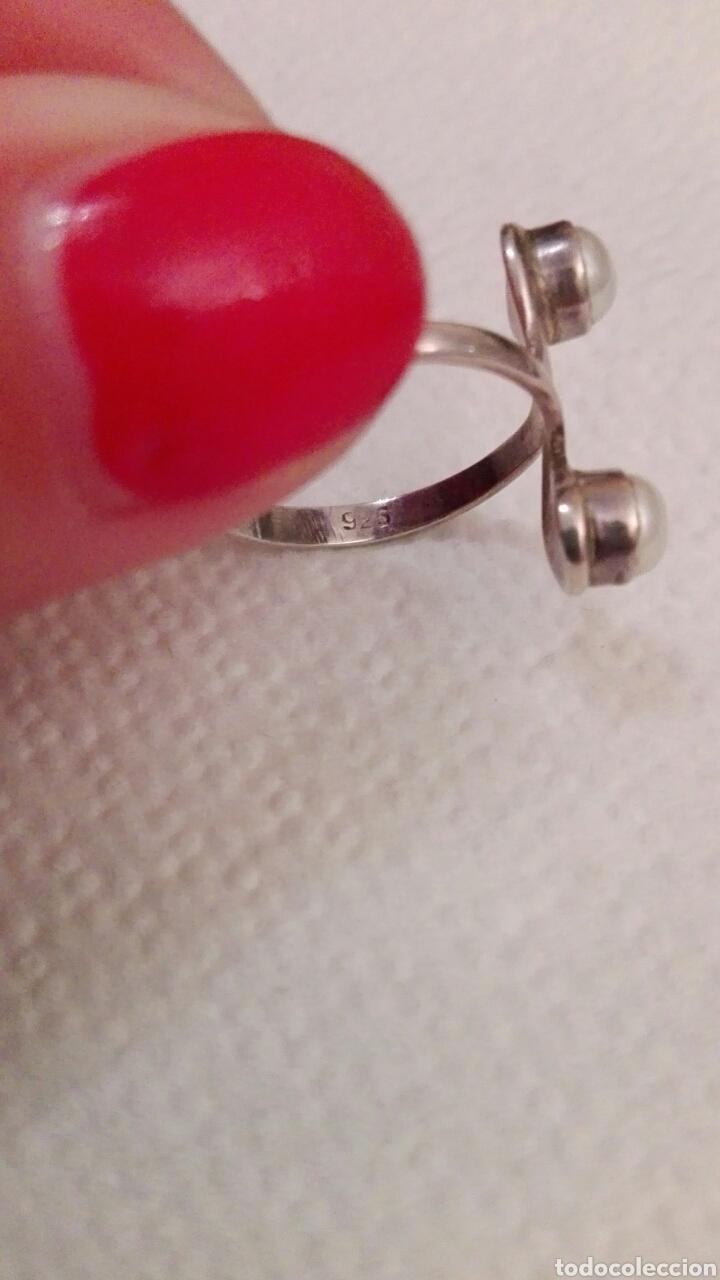 Joyeria: Anillo en plata de ley y perla cultivada - Foto 3 - 81220072
