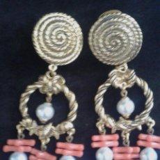 Joyeria - Pendientes vintage perlas - 88504580