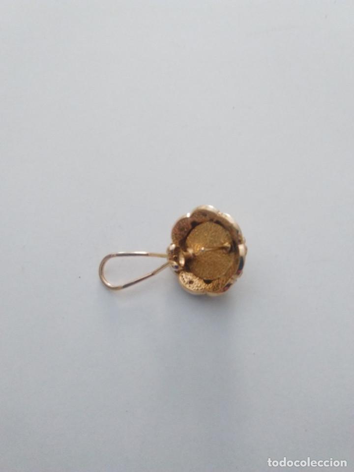 Joyeria: pendientes chapados con perla - Foto 2 - 99543019