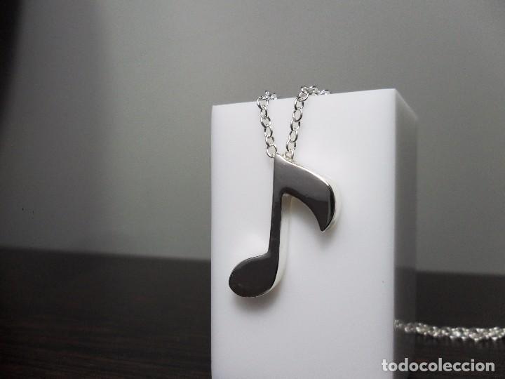 Joyeria: Cadena con colgante plata 925 con nota musical - Foto 11 - 101133003