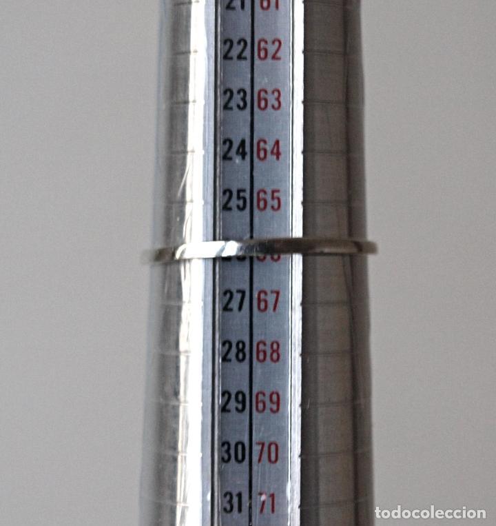 Joyeria: FINO ANILLO DE PLATA DE LEY CONTRASTADA. 21 MM DIAMETRO APROX.1,3 GRS. VER FOTOS Y DESCRIPCION - Foto 12 - 101455700