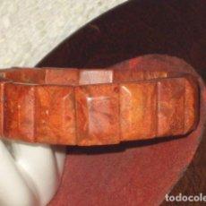 Joyeria: PULSERA DE CORAL MANZANA ELASTICA.. Lote 101477295