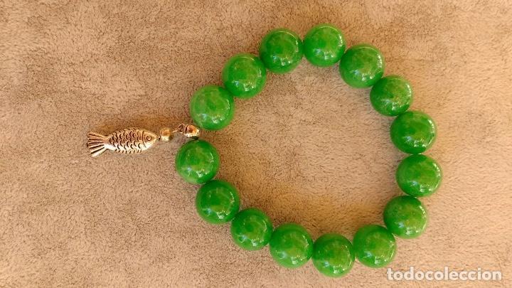 969c79dc50c5 pulsera cuarzo verde con colgante de pez - Buy Fashion Jewelry at ...