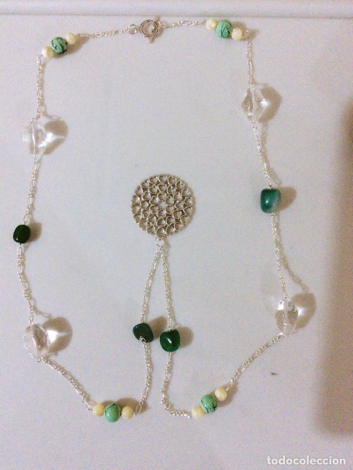 6d4db887fd32 Joyeria  Un precioso colgante collar en color plata