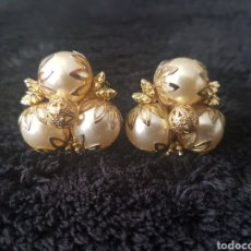 Joyeria - Pendientes bisuteria perlas artificiales - 114006954